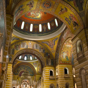 arches by Jody Jedlicka - Buildings & Architecture Places of Worship ( historic, church, cathedral, arches, architecture )
