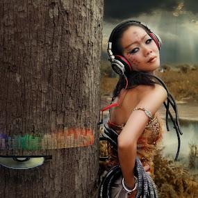 傾聽 by Chua Chung nam - Digital Art People