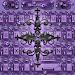 Purple Gothic Cross Keyboard theme Icon