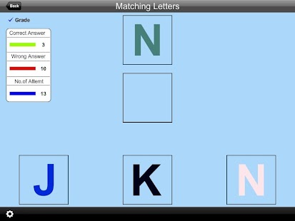 Alphabet Matching Letters Lite- screenshot thumbnail