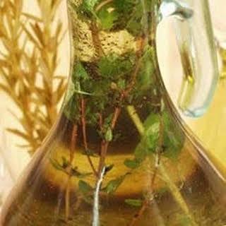 Balsamic Vinegar and Olive Oil Dressing.