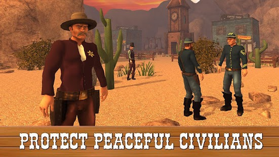 Cowboy Red Death Prevention Western Shooter - náhled