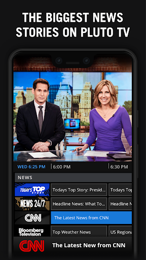 Screenshot for Pluto TV - It's Free TV in United States Play Store