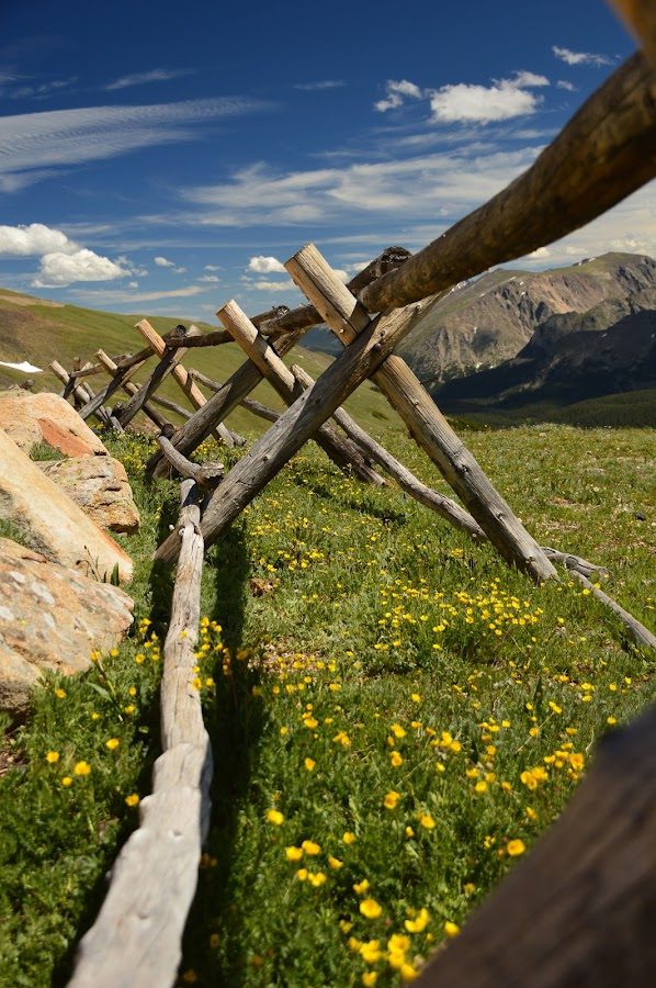 Atop the Continental Divide, RMNP by John Berry - Buildings & Architecture Other Exteriors