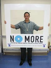 Photo: Senator Tommy Morrison takes a stand against domestic violence and sexual assault!