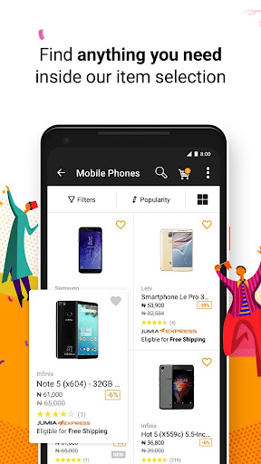 JUMIA Online Shopping 4.7.1 screenshots 2