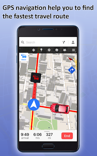 GPS Live Street View, Voice Route & Offline Maps 1.4 screenshots 2