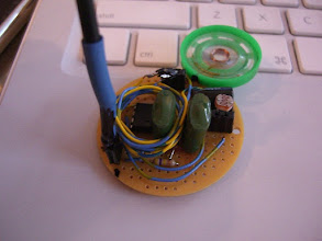 Photo: a light theremin http://makeprojects.com/Project/Light-Theremin/989/1