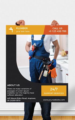 Flyers, Poster Maker, Graphic Design, Banner Maker screenshot 22