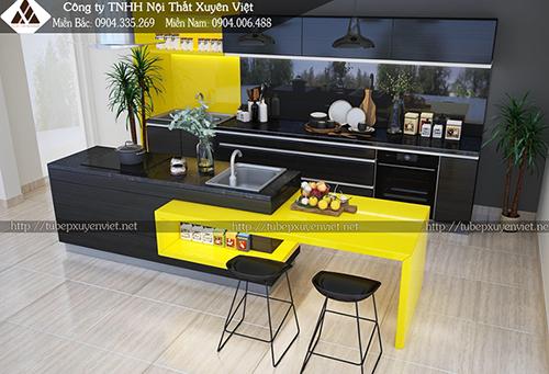 Tủ bếp Laminate và những điều bạn cần quan tâm hình 1