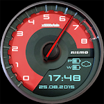 GT-R Nismo Watch Face Icon
