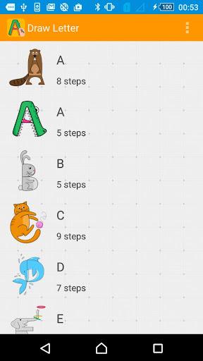 How to Draw Using Alphabet