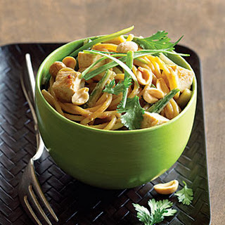 Peanut Noodles with Tofu.