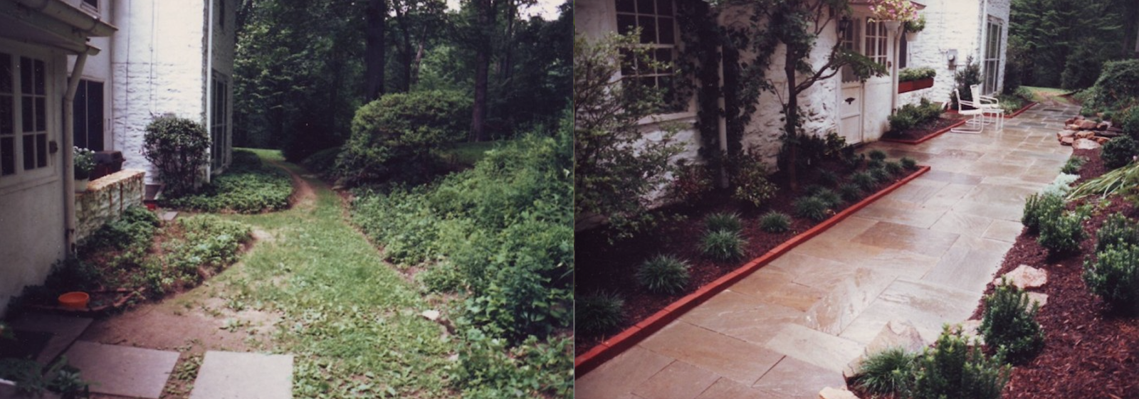 Side-by-side pathway transformation