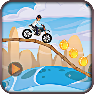 Crazy Jungle Ben Bike Race for PC and MAC