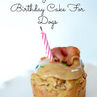 Mini Grain Free Birthday Cake For Dogs