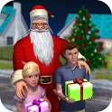 Rich Dad Santa: Fun Christmas Game icon