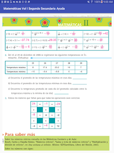 Ayuda Matemáticas Vol1 2do Sec- screenshot thumbnail