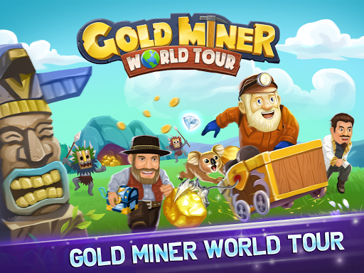 Gold Miner World Tour: Gold Rush Mining Adventure screenshots 20