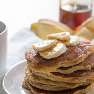 Paleo Banana Coconut Flour Pancakes.