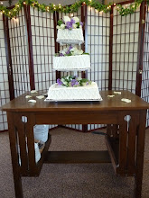 Photo: cake table