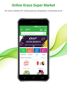 grace super market online grocery shopping apps on google play