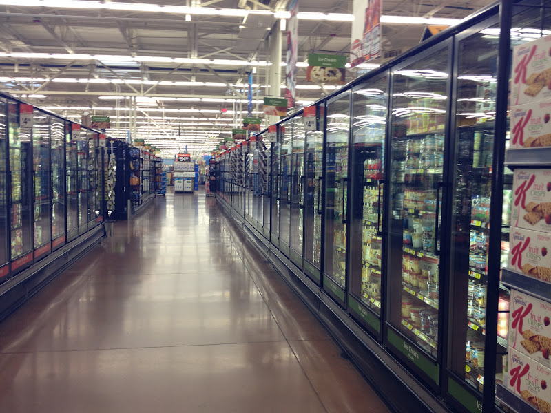 Photo: The Ice Cream aisle!