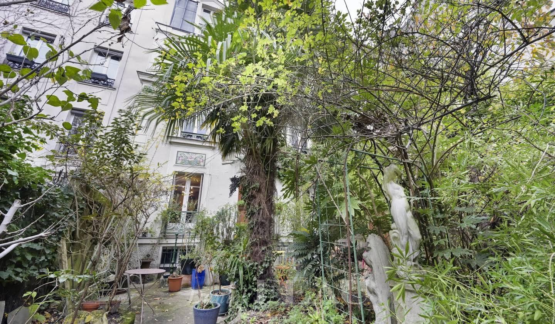 House with garden Paris 18th
