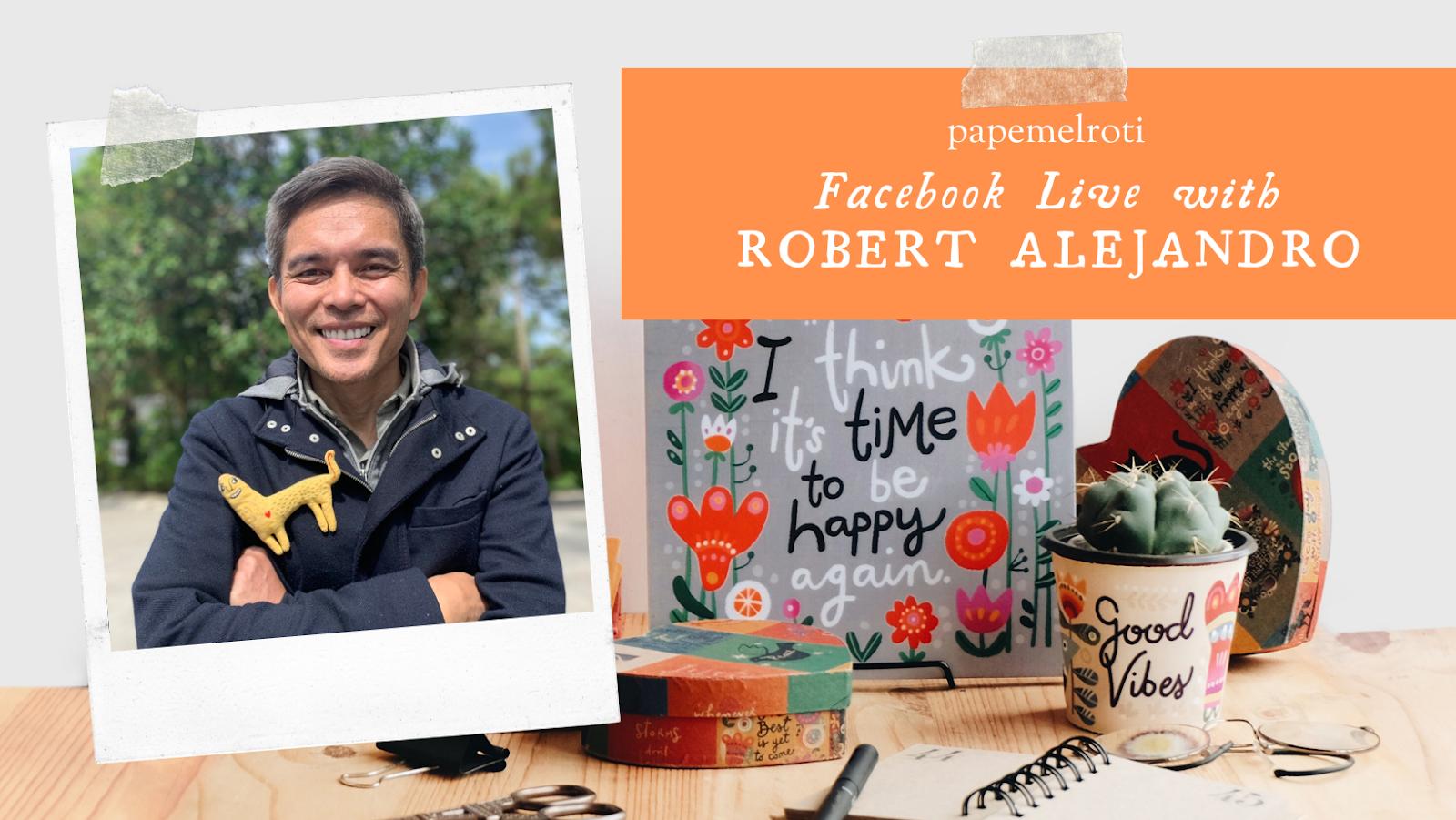 Papemelroti   Facebook Live with Robert Alejandro
