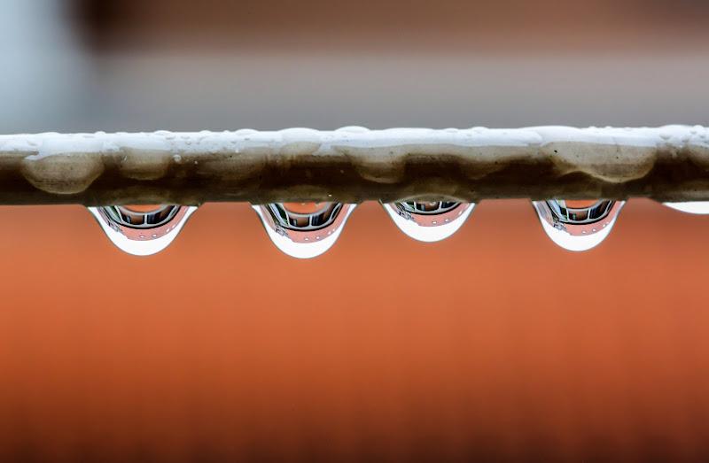 Pioggia, sul filo da stendere di ScrofaniRosaria