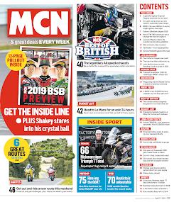 MCN Motorcycle News- screenshot thumbnail