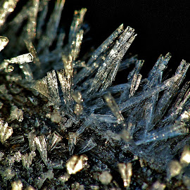 Ice crystals. by Izvorul Muntelui Bicaz - Nature Up Close Other Natural Objects