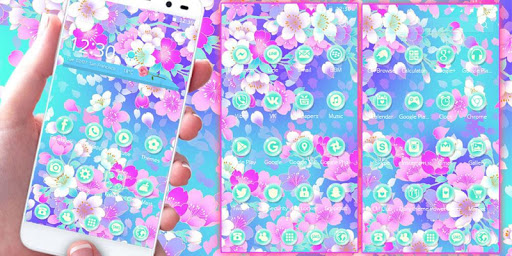 Blossom sakura Theme Screenshot