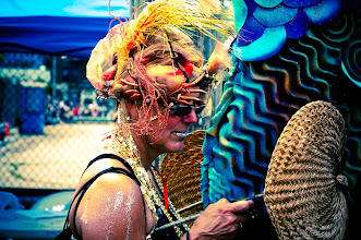 Photo: 2011 Coney Island Mermaid Parade I usually process in b&w, but some of these just screamed color #streetphotography