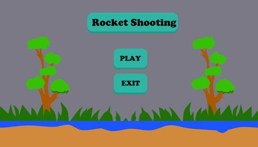 火箭射擊遊戲對於兒童