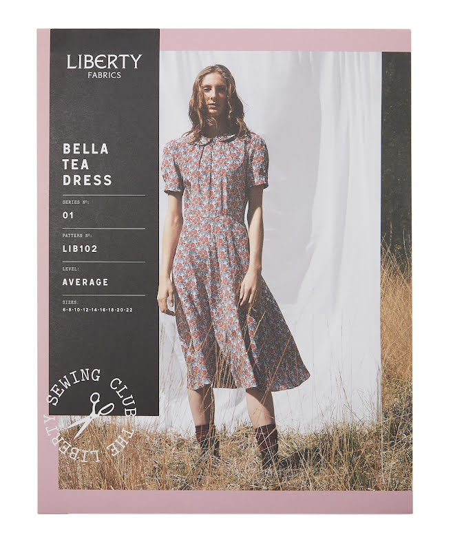 Bella Tea Dress från Liberty
