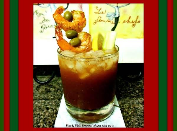 Bloody Bbq Shrimp Mama Mia Recipe