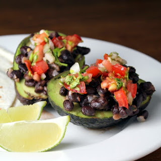 Black Bean Stuffed Avocados.