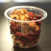 Mixed Nuts & Raisins Pot