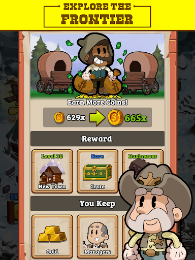 Idle Frontier: Tap Town Tycoon screenshots 11