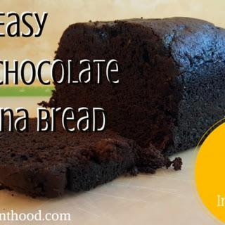 Dark Chocolate Banana Bread.