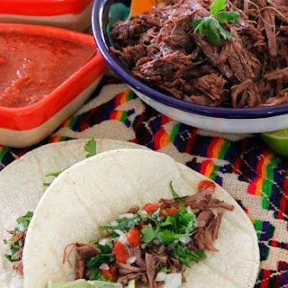 Beef Barbacoa in a Pressure Cooker.