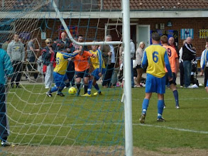 Photo: 14/05/11 v Alemite Athletic (Bishop's Stortford, Stansted & District League Prem Div at AAFC) 3-2 - contributed by Bob Davies