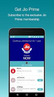 MyJio Screenshot