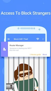 Block WiFi Thief-manage network security risks Screenshot