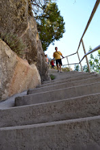 Photo: Lots of stairs