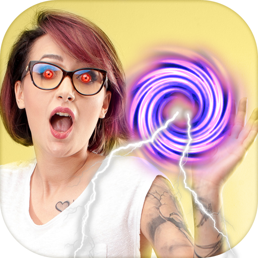 Super Powers Photo Effects GIF Icon