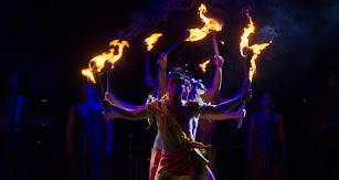 Foto del festival de folclore en el Parque de las Almadrabillas