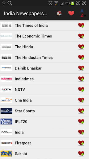 India Newspapers And News