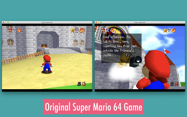 Super Mario 64 - N64 Simulator